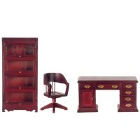 Sale $10 off - Dollhouse Barrister Office - Product Image
