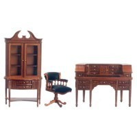 Dollhouse Cockcroft Office / Study Set - Product Image