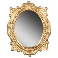 Dollhouse Victorian Oval Mirror(Choice of Finishes) - Product Image