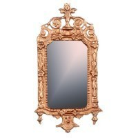 Dollhouse Victorian Ornatel Mirror(Choice of Finishes) - Product Image