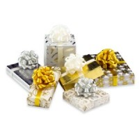 Dollhouse Silver/Gold/White X-mas Gifts - Product Image