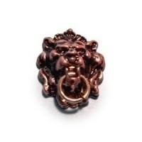 Dollhouse Lion Head Knocker/Antique - Product Image