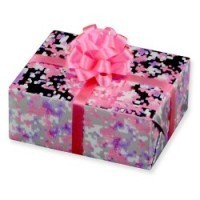 Dollhouse Foiled Wrap Gift - Product Image