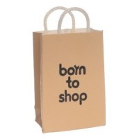 Dollhouse Born to Shop Bag with Handle - Product Image