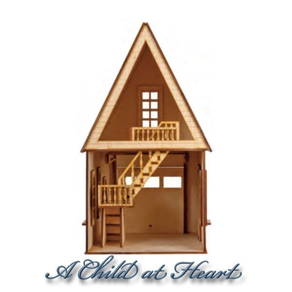 Dollhouse Garage With Loft Kit