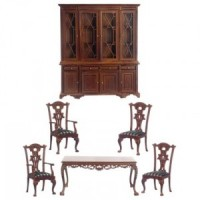 Orleans Dollhouse Dining Room - Product Image