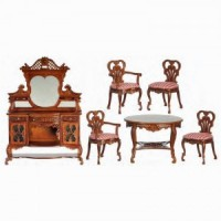 Kensington Dollhouse Dining Room - Product Image