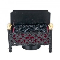 Dollhouse LED Fireplace Firebox - Product Image
