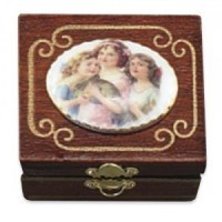 (*) Dollhouse Fancy Jewelry Box (Filled) - Product Image