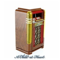(*) Dollhouse Musical Vintage Juke Boxes - Product Image