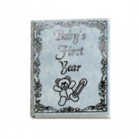 Dollhouse Miniature Baby Book - Product Image