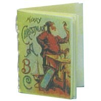 Dollhouse Merry Christmas Abc's - Product Image