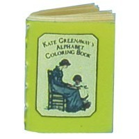 Dollhouse Kate Greenway Alphabet Coloring Book - Product Image