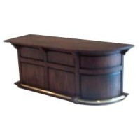 Dollhouse Bar Counter Rounded - Product Image