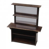 Dollhouse Mirror Back Bar Unit - Product Image