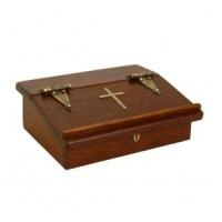 (§§) Dollhouse Church Bible Box - Product Image