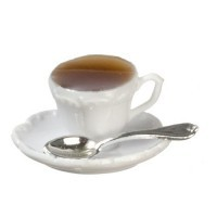 Dollhouse Filled Cup of Coffee - Product Image
