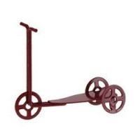 (*) Dollhouse Miniature Toy Scooter - Product Image