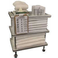 Dollhouse Patient Laundry Cart - Product Image