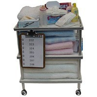 Dollhouse Hospital Baby Essentials Cart - Product Image