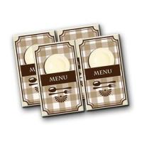 4 Dollhouse Menus - Product Image