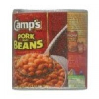 (*) Dollhouse Pork n Beans Can - Product Image