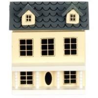 Miniature Dollhouse Dollhouse (Cream) - Product Image