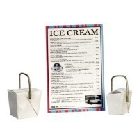 (*) Dollhouse Ice Cream Take Out Set - Product Image