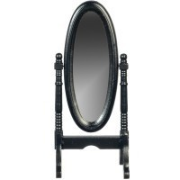 Dollhouse Bedroom Cheval Mirror - Product Image