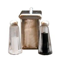 Dollhouse Diner Condiment Set #1 - Product Image