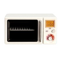 (*) Dollhouse Lighted Microwave Oven - Product Image