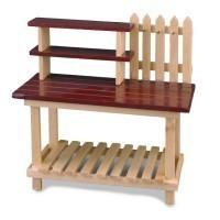 Dollhouse Garden Potting Bench - Product Image