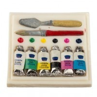 Dollhouse Hobbyist Paint Set   - Product Image