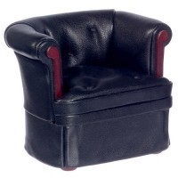Dollhouse Leather Chair by Bespaq - Product Image
