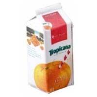 Dollhouse Tropicana Orange Juice - Carton - Product Image