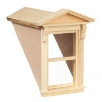 Small Dormer with Working Window - Product Image