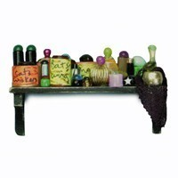 Dollhouse Halloween Shelf - Product Image
