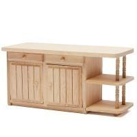 Dollhouse Unfinished Kitchen Island - Product Image