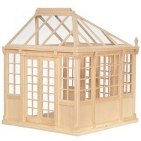 Dollhouse Greenhouse - Unfinished - Product Image