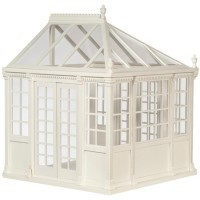 Dollhouse Greenhouse - White - Product Image