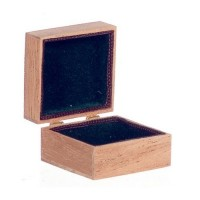 Dollhouse Silverware Chest (Empty) - Product Image