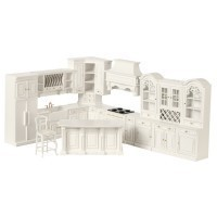 Dollhouse White Kitchen by Bespaq - Product Image
