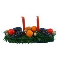 Dollhouse Fall Centerpiece - Product Image
