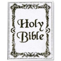 Dollhouse Holy Bible (White) - Product Image