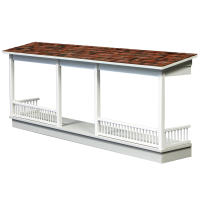 Dollhouse Front Porch Kit - Product Image
