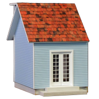 Colonial Dollhouse Addition - 1011 - Product Image