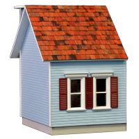 Colonial Dollhouse Addition - 5041 - Product Image