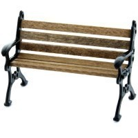 § Sale $4 Off - 1/2 inch Scale Park Bench - Product Image