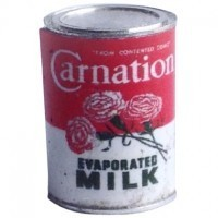 Dollhouse Carnation Evaporated Milk - Product Image