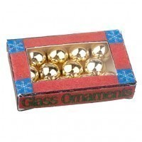 (*) Box of Christmas Ornaments - Product Image